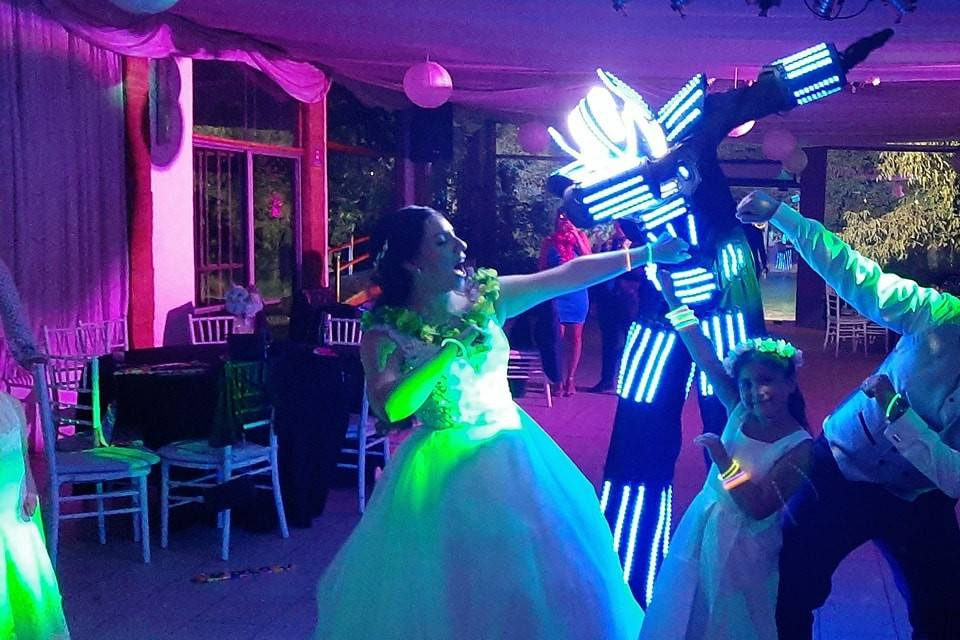 Boster Robot Led Show Chile