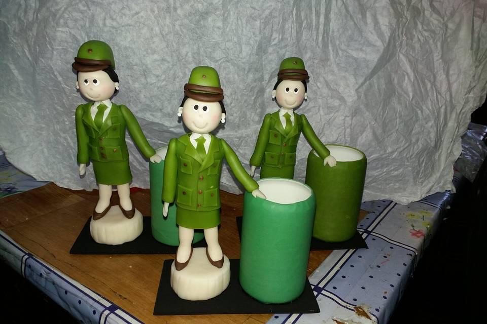 Lapiceros para carabineros