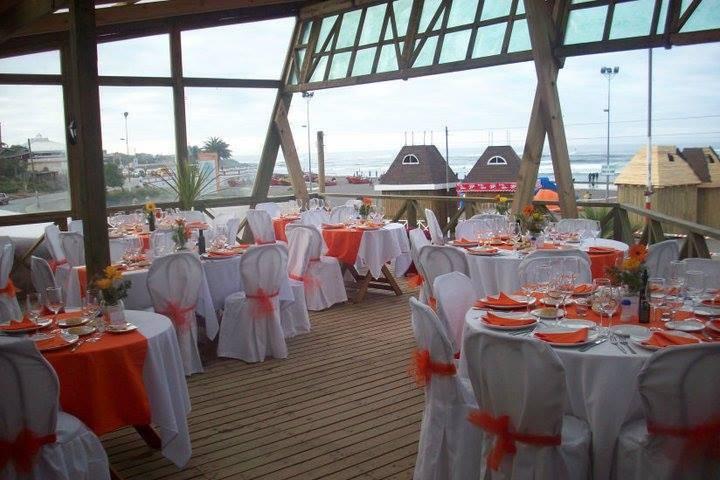 Matrimonio en la terraza