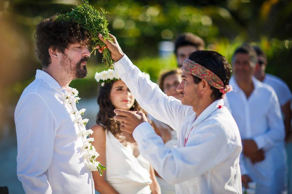 Ritual boda maya