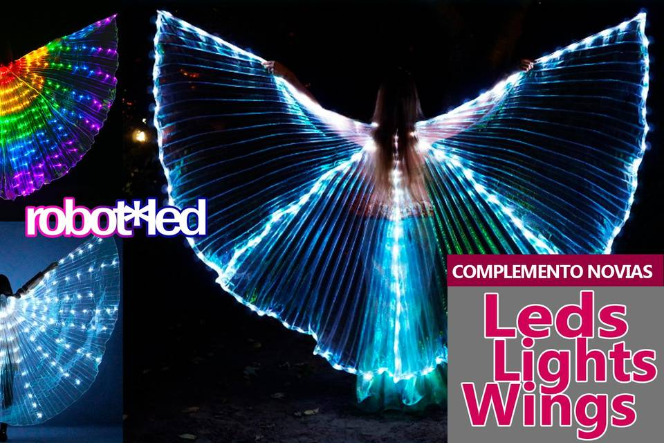Novias ld lights wings