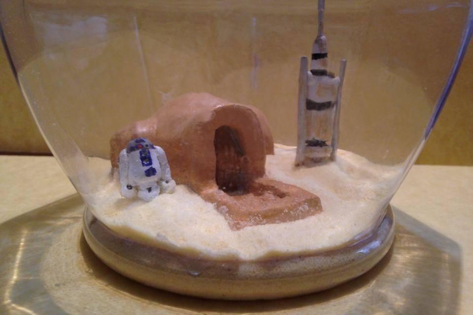 Centro de mesa Star Wars