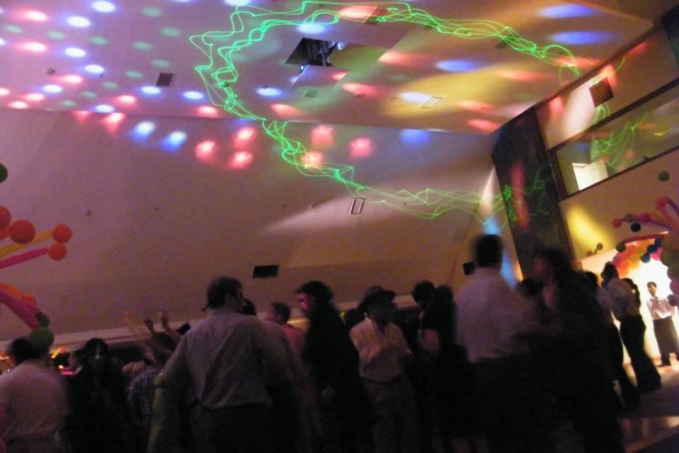 Iluminación fiesta