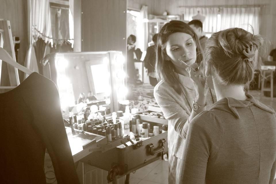 Maleta maquillaje para novias