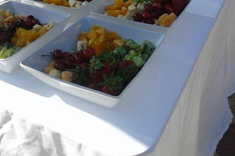 Frutas y aguas