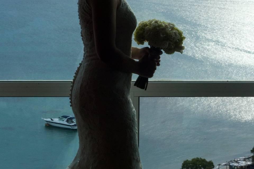 Lili y el mar caribe