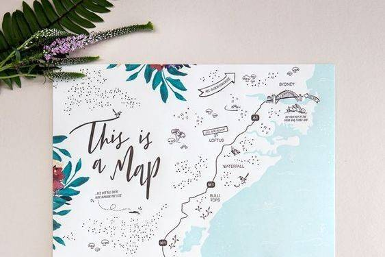Parrte con mapa