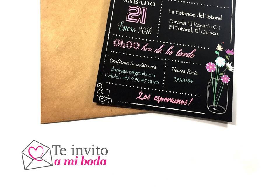 Te invito a mi boda