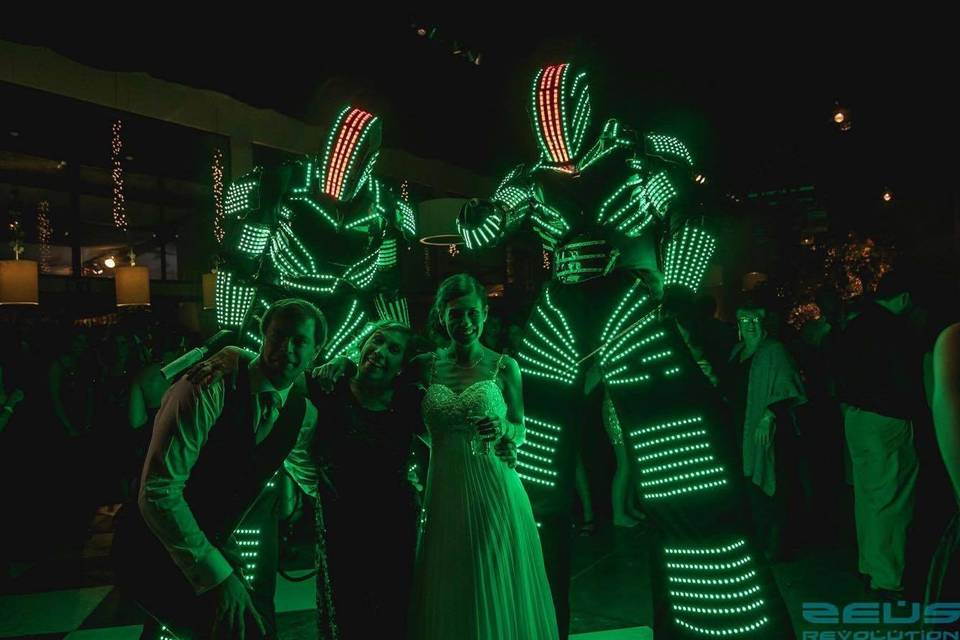 Led Box Eventos - Robot led