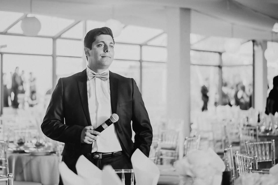Enrique Maestro de Ceremonia