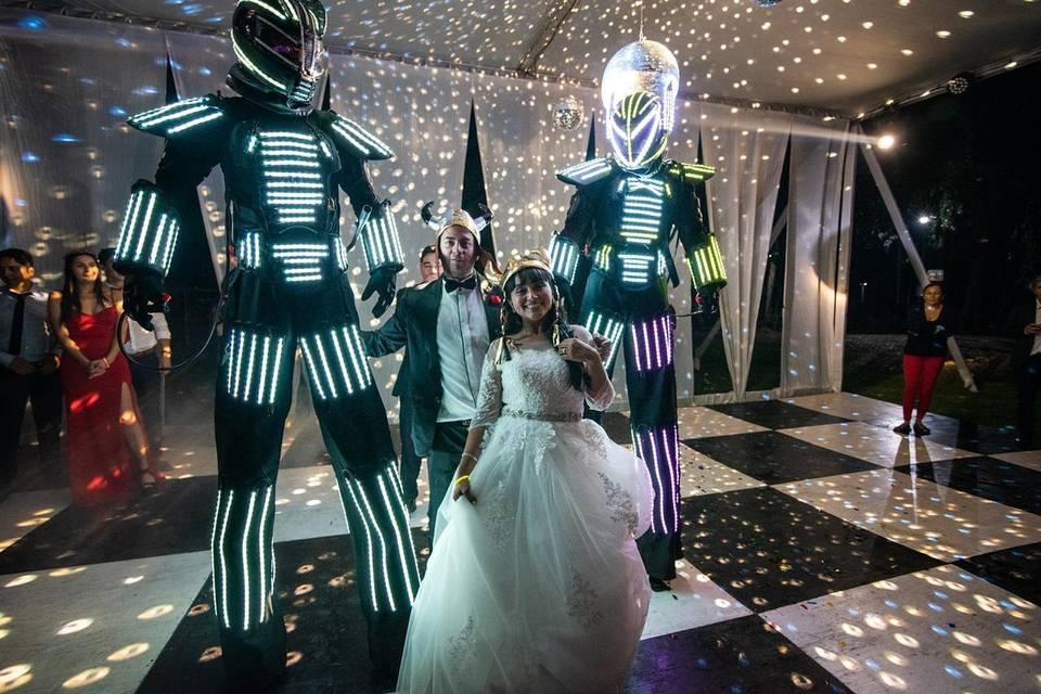 Robot Led Infinite Light