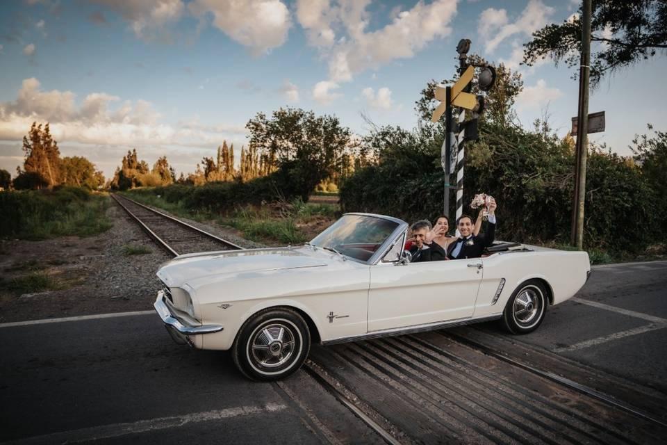 Ford Mustang en El Paico