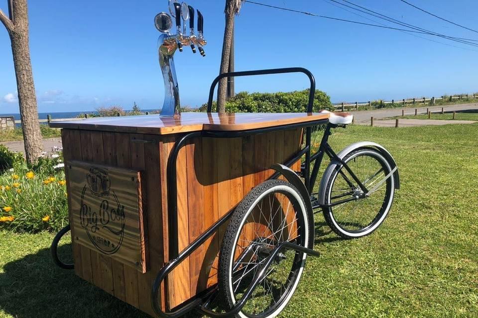 Triciclo cervecero
