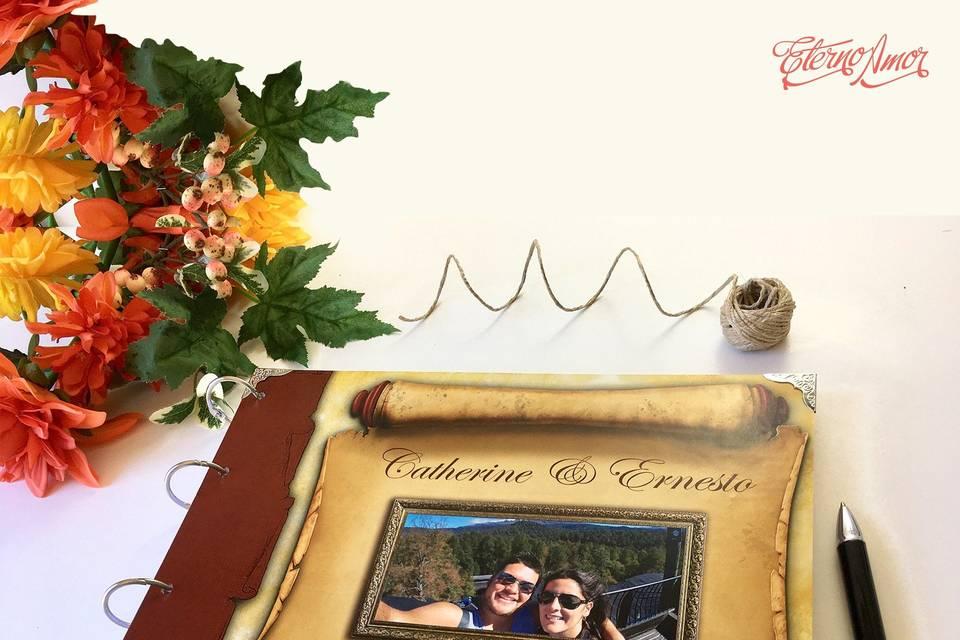 Eterno amor invitaciones